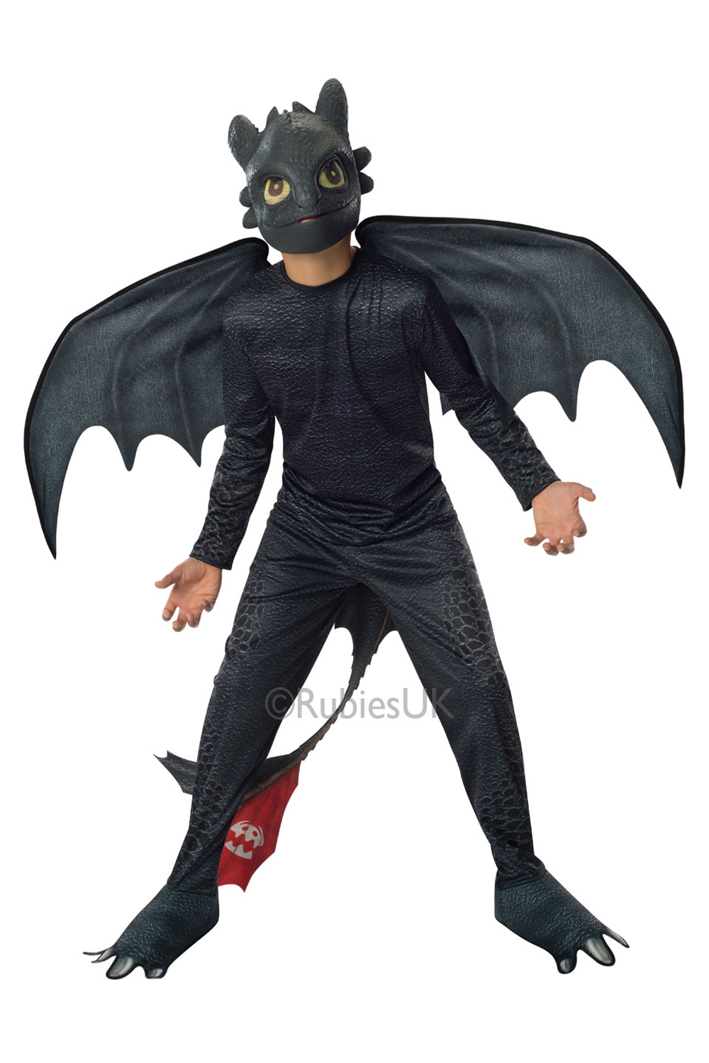 Childrens Toothless Night Fury Rubies Train Your Dragon 2 ...