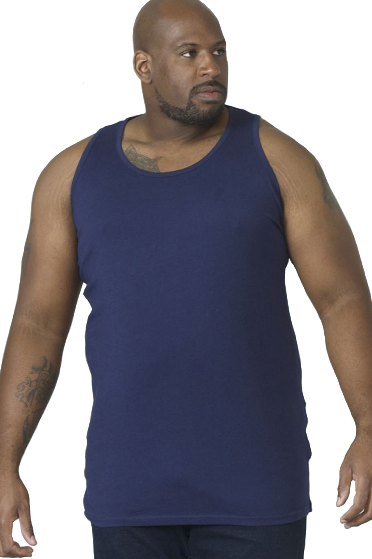 Duke D555 Mens Big Tall King Size Fabio Muscle Sleeveless Sport Gym Vest Top
