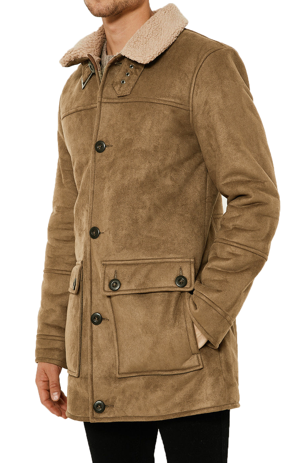LEATHER & SUEDE OUTERWEAR. Leather jackets and suede jackets are among the most flexible pieces of outerwear a man can have. With designs ranging from clean cut lines handed down from a European tradition to more rugged and worn looks normally associated with American design, leather jackets, in particular, speak to all personalities.