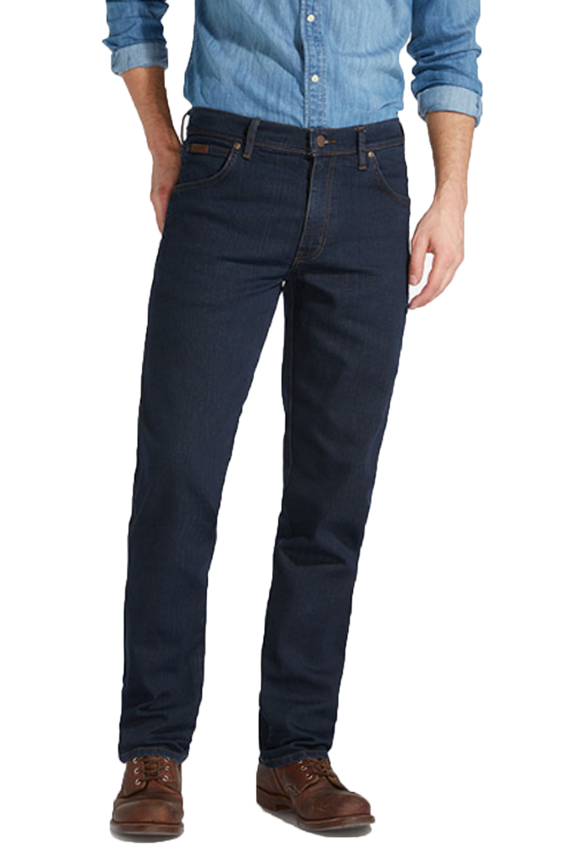 Wrangler Mens Texas Iconic New Designer Stretch Fit Jeans Original Western Pants
