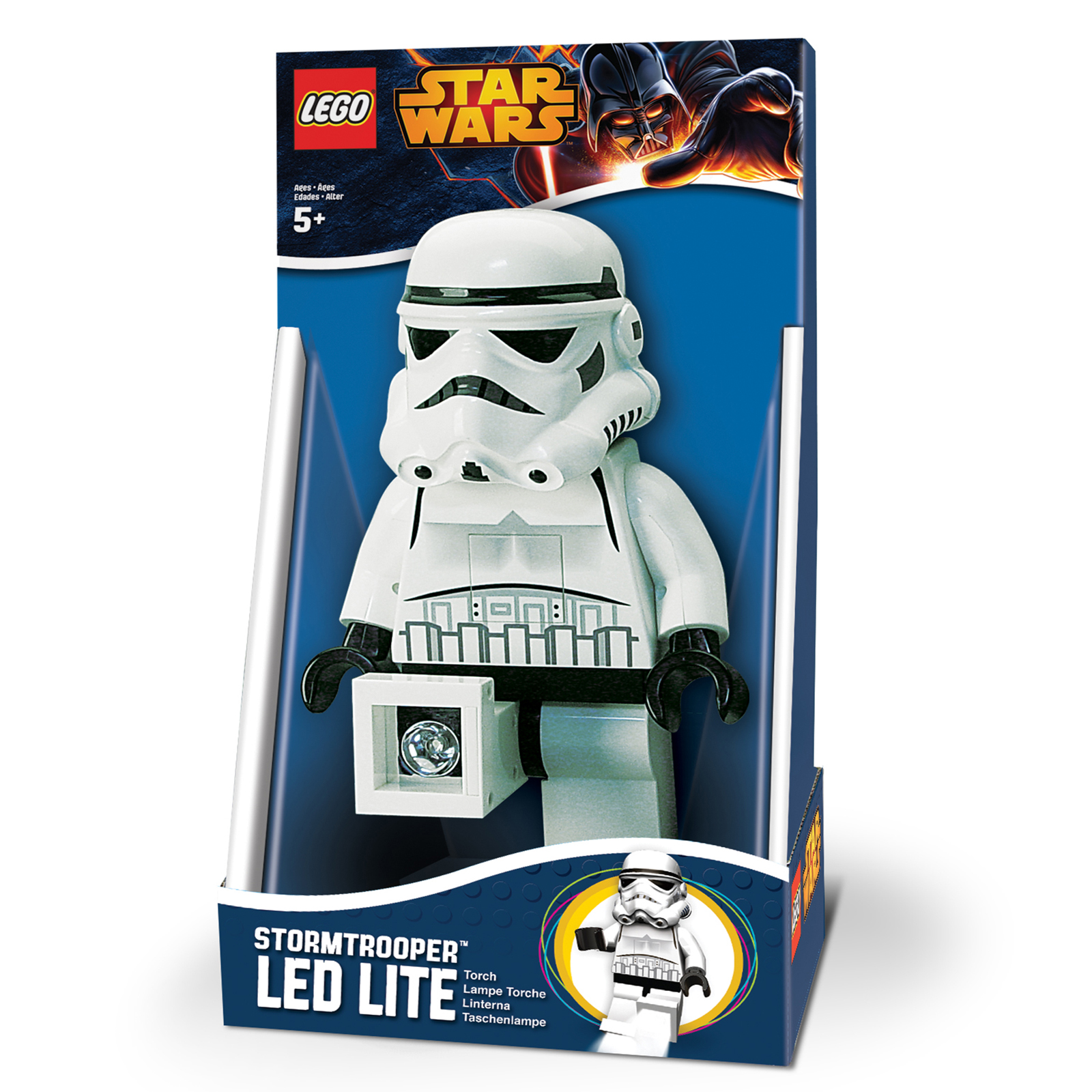 Lego Star Wars LED Light Torcia Darth Vader Stormtrooper Mini Figurina ...
