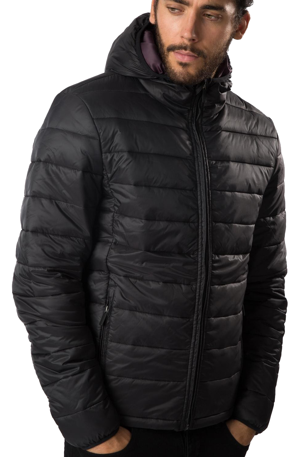 Threadbare Mens Padded Jacket New Mongrel Lightweight Puffer ...