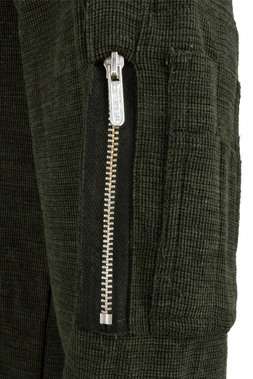 Dissident Mens Astin Slub Zip Knitted Jumper Crew Neck Pullover Sweater Knit Top