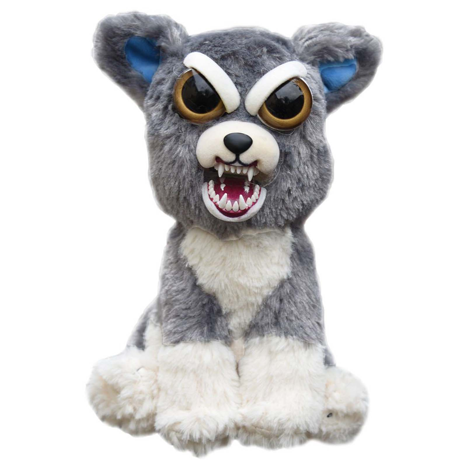 Feisty Pets Soft Plush Stuffed Scary Face Must Have Toy Animal With Attitude eBay