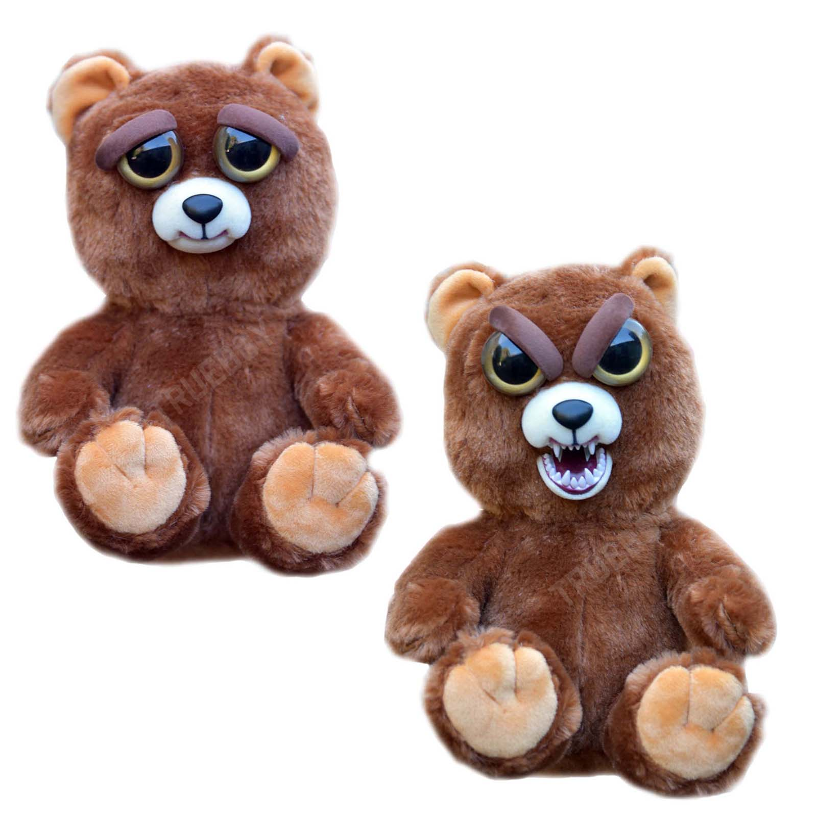 Stuffed Animal Toys : Feisty pets soft plush stuffed scary face must have toy