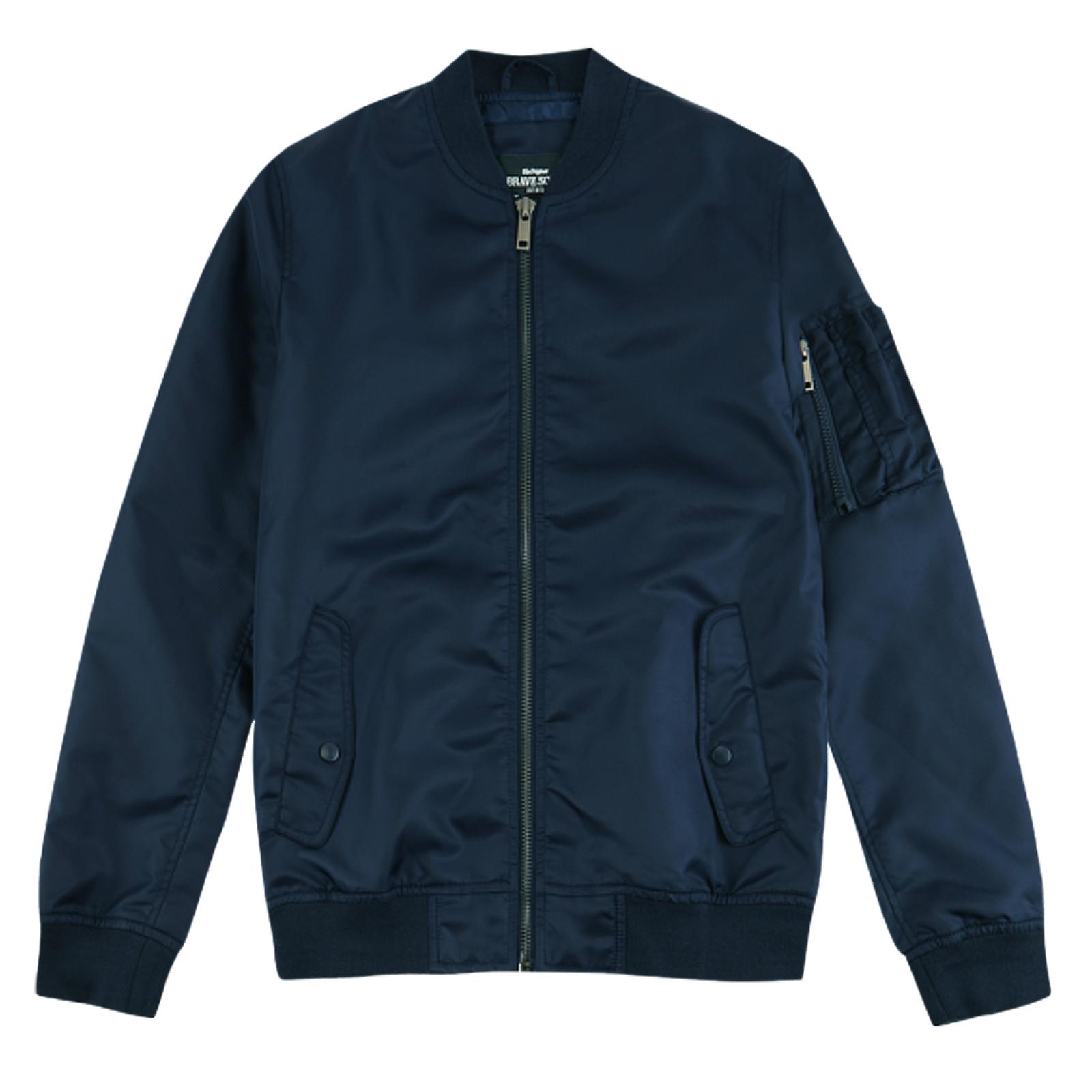 Brave Soul gothenburga Da Uomo Bomber ma1 Jacket Classico HARRINGTON Cappotto Militare