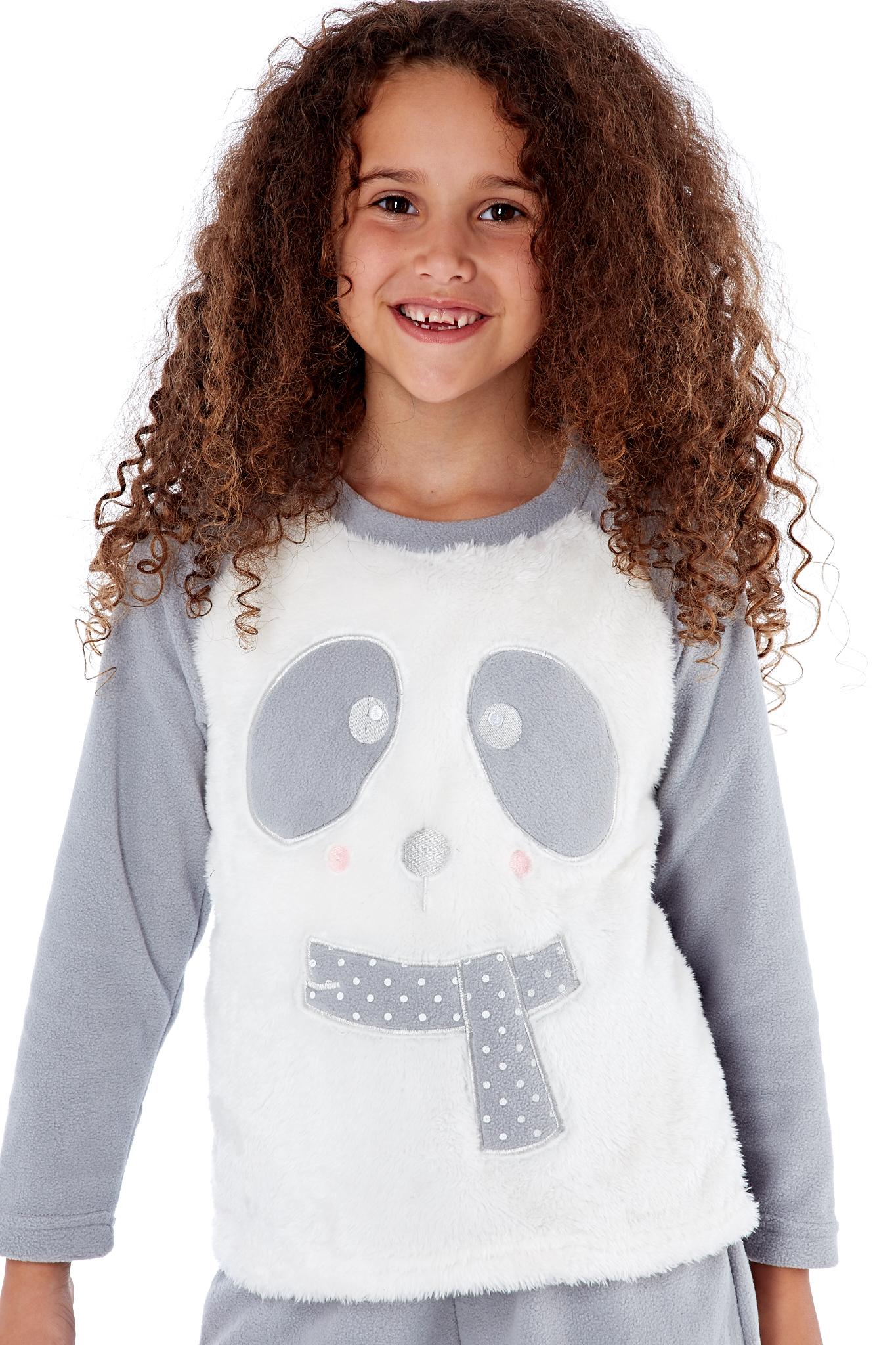 Selena Secrets filles Cici love me ou écharpe Bear Pyjama Luxe Super Doux Pyjama