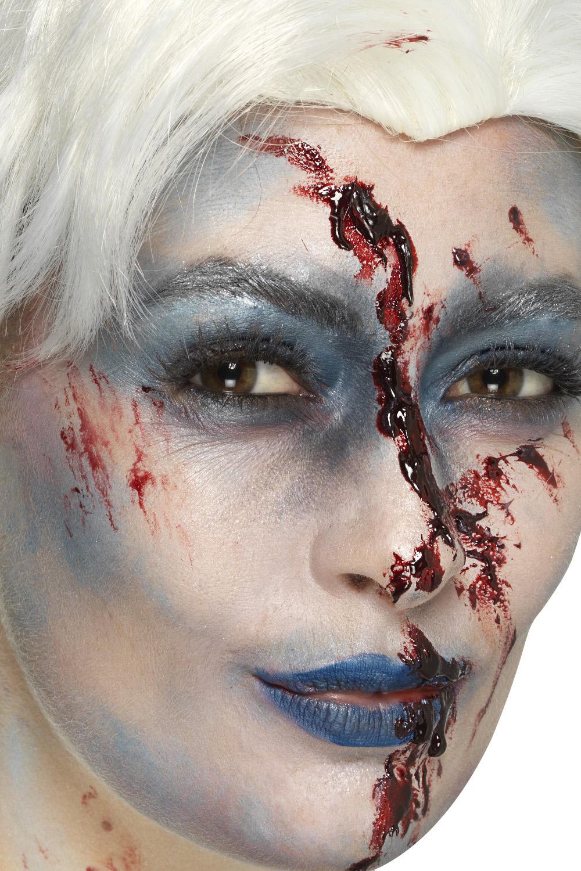 Smiffys Womens Zombie Froze To Death Or Bloody Alice Wig Halloween Fancy Dress