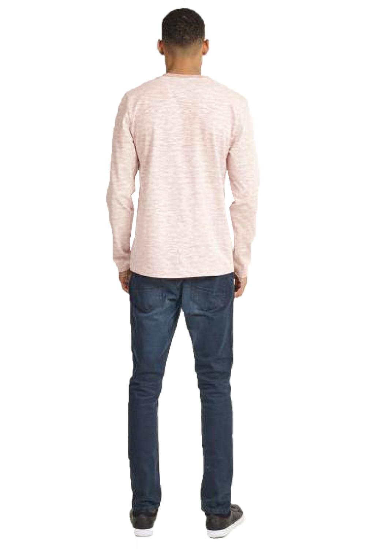 Brave Soul da Uomo Designer Hoffa o Caine manica lunga T Shirt Cotone Girocollo