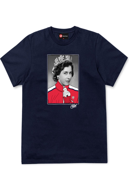 Chunk Mens Street Queen T-Shirt Graphic Novelty Streetwear Crew Neck Cotton Tee