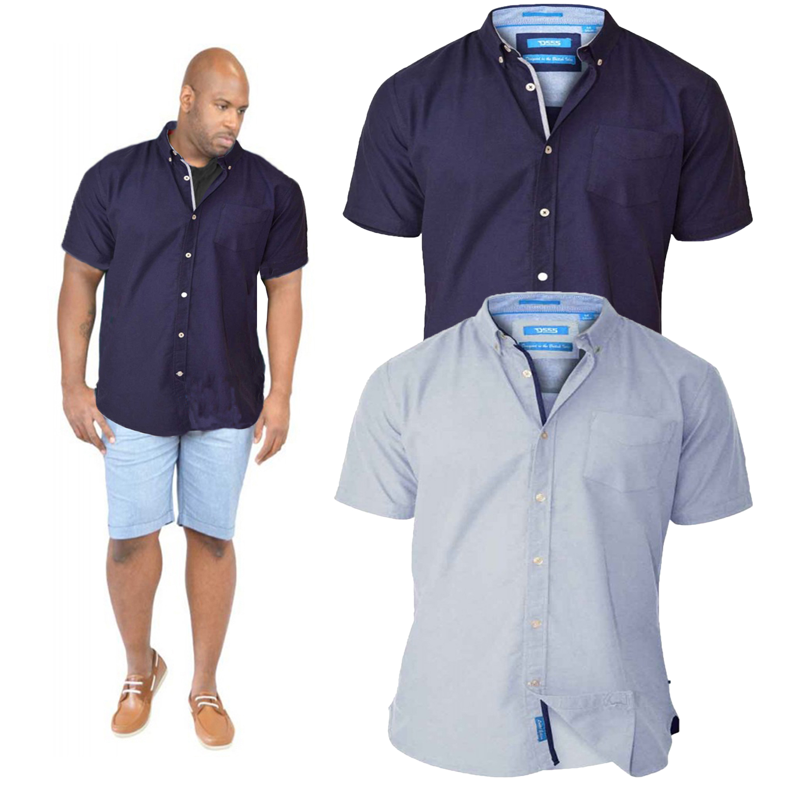 Kingsize Big & Tall stock International and top brand names. Whether you purchase Board shorts and T shirts or Large size Business shirts, you need to know that you have the ability to return goods that do not fit. Kingsize Big & Tall have a money back Guarantee, so you know you can buy with confidence.