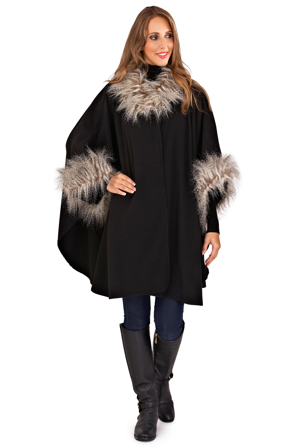Find fur lined cape at ShopStyle. Shop the latest collection of fur lined cape from the most popular stores - all in one place.