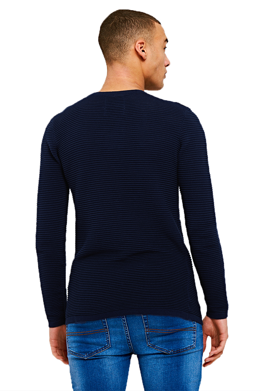 Logoro Da Uomo Focaccina RIB Designer in Maglia Sottile Nuovo Stile A Costine Pullover Maglione