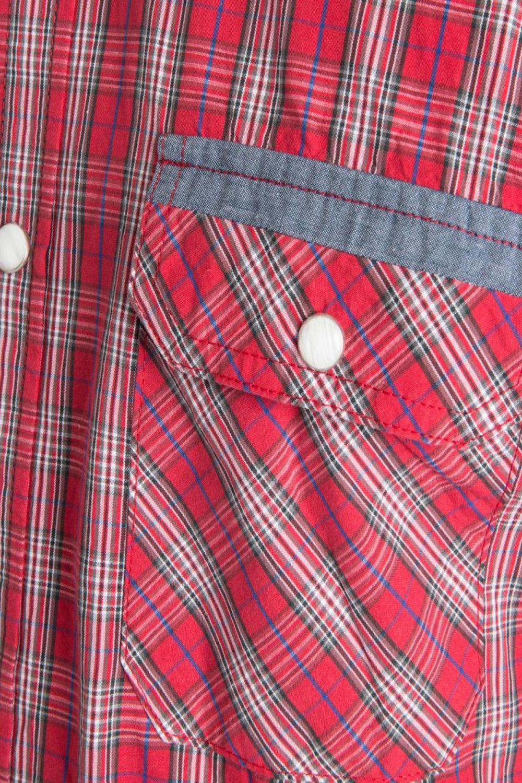 Shirt design press - Threadbare Mens Torquay Designer Press Stud Placket Long