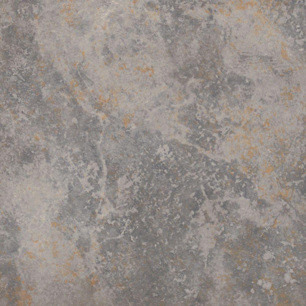 Light grey stone floor tiles