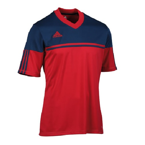 adidas climalite mens autheno football training top jersey t shirt gym. Black Bedroom Furniture Sets. Home Design Ideas