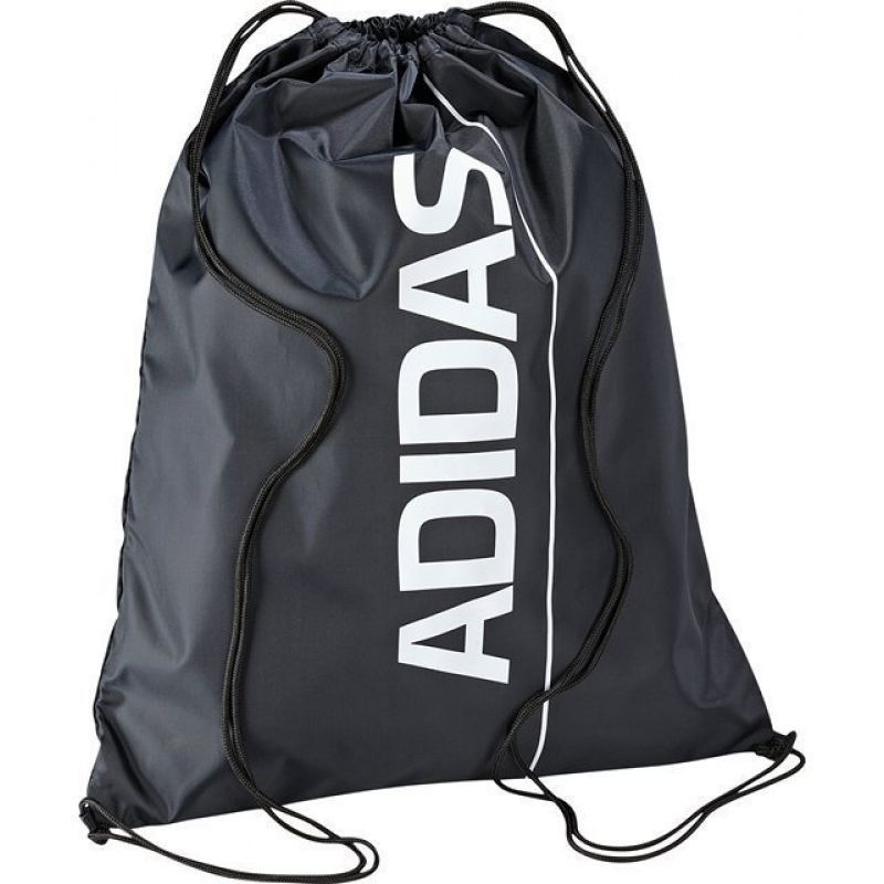 adidas Performance Linear Gym Sack Drawstring Bag School PE Kit ...