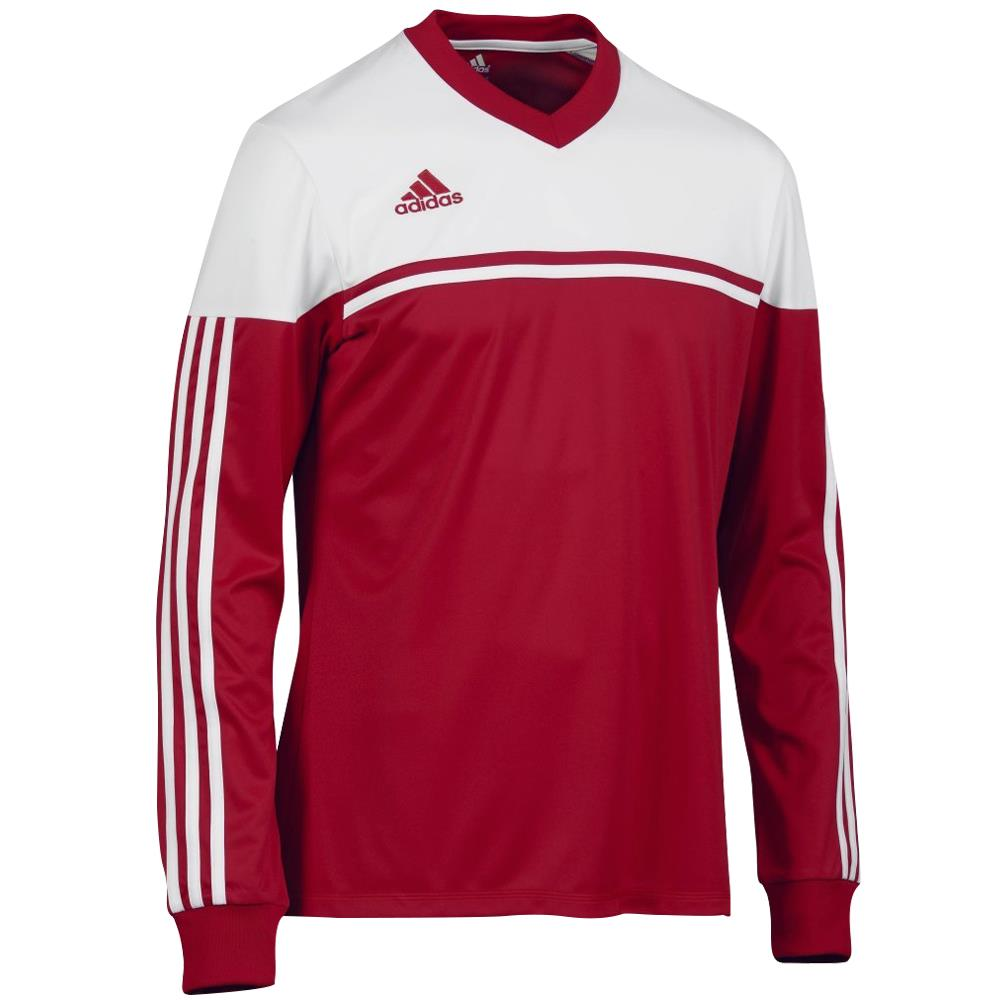 Adidas climalite men 39 s autheno football training top t for Best full sleeve t shirts