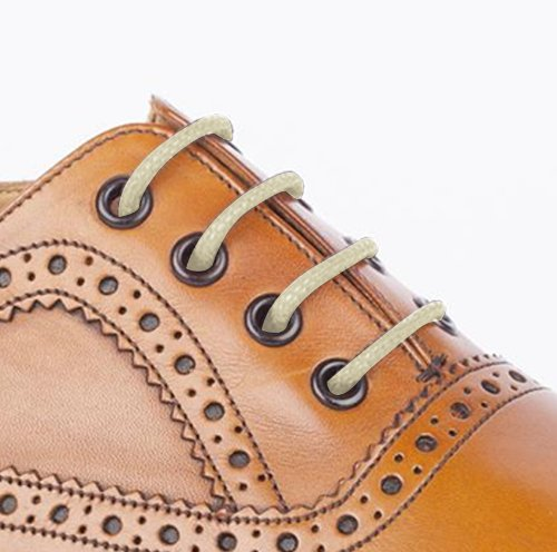 waxed cotton thin shoe laces dress wax cord brogues