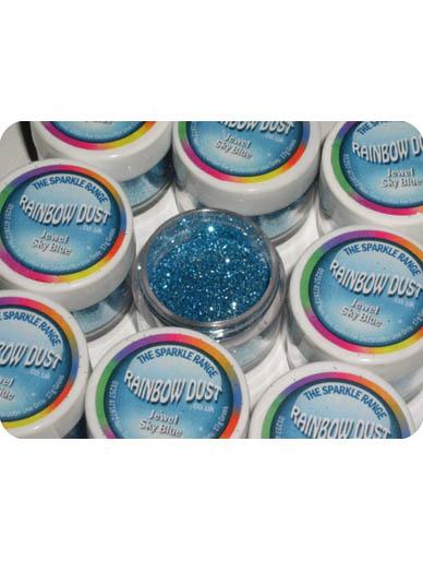 Cake Decorating Glitter Dust : Rainbow Dust Glitter NON TOXIC Jewel Sparkle Cake ...