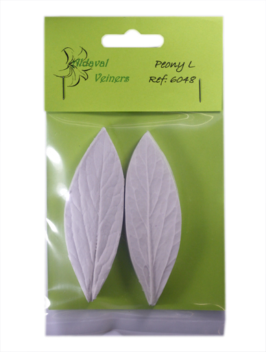 Foil Leaves Cake Decorating : Peony Veiners Leaf and Petal Aldaval Veiners Leaves ...