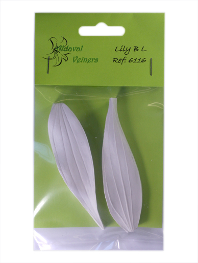 Lily Nail Cake Decorating : Lily Leaf & Petal Veiners Aldaval Sugarcraft Cake ...