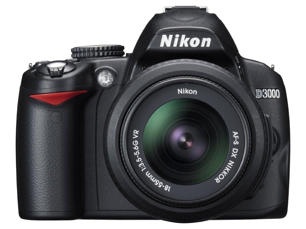 Nikon D3300 DSLR  1855mm VR II Lens  Black