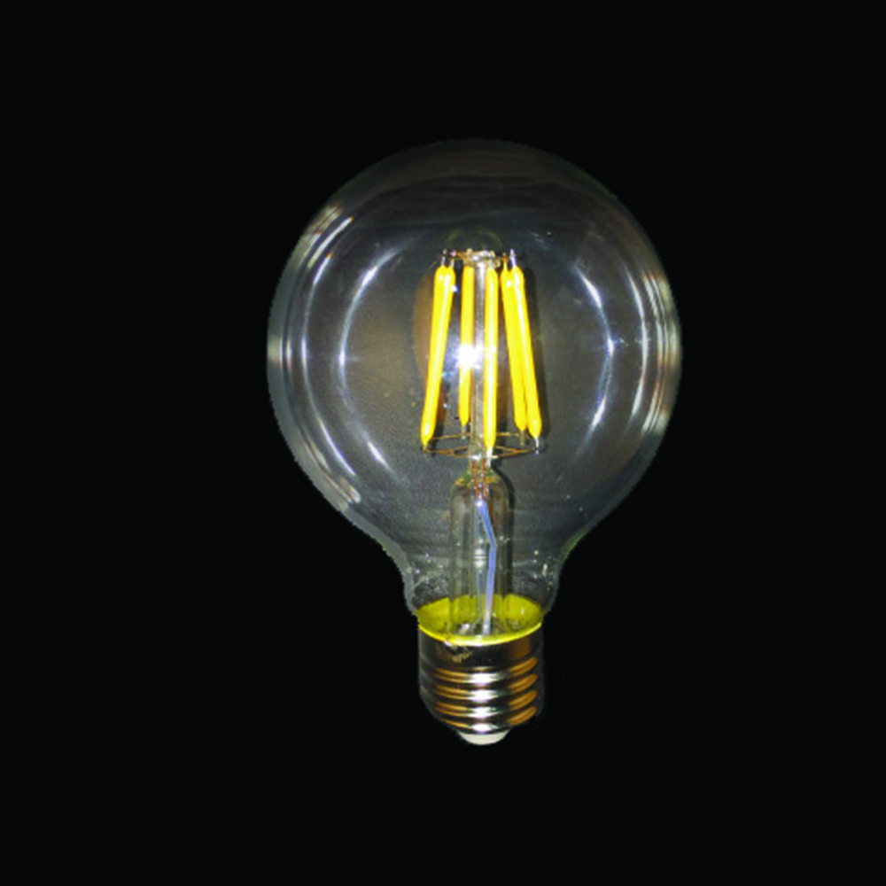 Vintage light bulb antique retro christmas edison amber