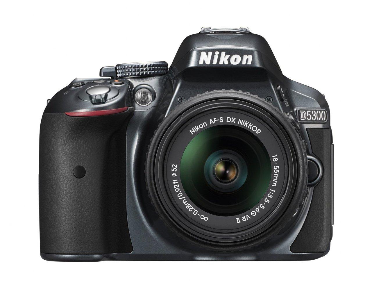 Nikon D5300 DSLR Camera Body Only Grey
