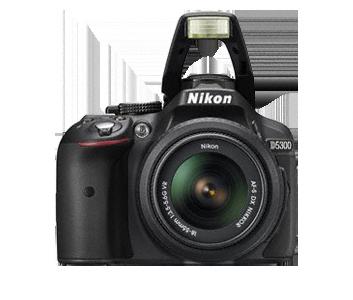 Nikon D5300 DSLR Camera Body Only  Black