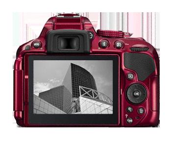 Nikon D5300 DSLR Camera Body Only  Red