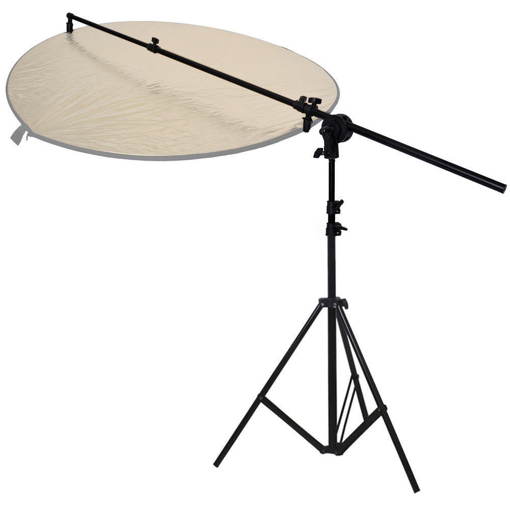 Light Stand Organizer: PhotR Collapsible Reflector Holder Boom Arm + 2m Photo