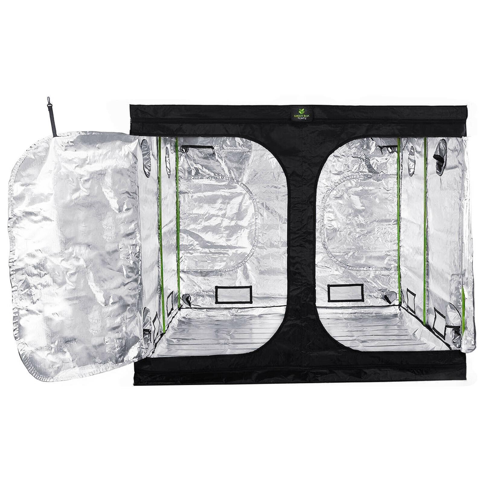 Professional Grow Tent LOW Hydroponics Bud Dark Room 2.4m x 1.2m 1.8m