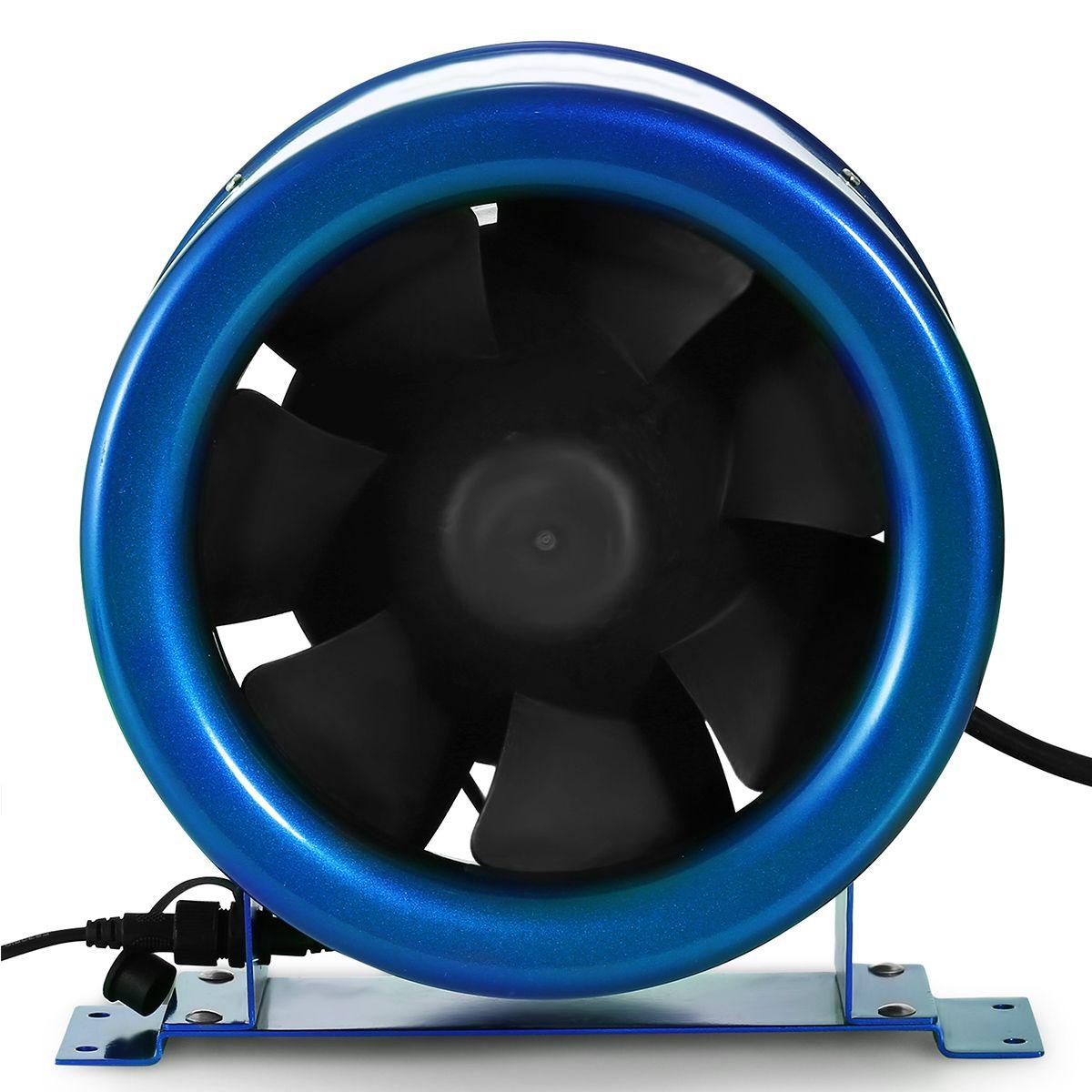 """Hyper fan 250mm - 1810 m3//h 10/"""" Silenced"""