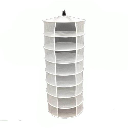Large Hydroponic Hanging Growing Dry Rack 4 Tier Shelf Includes scissors UK