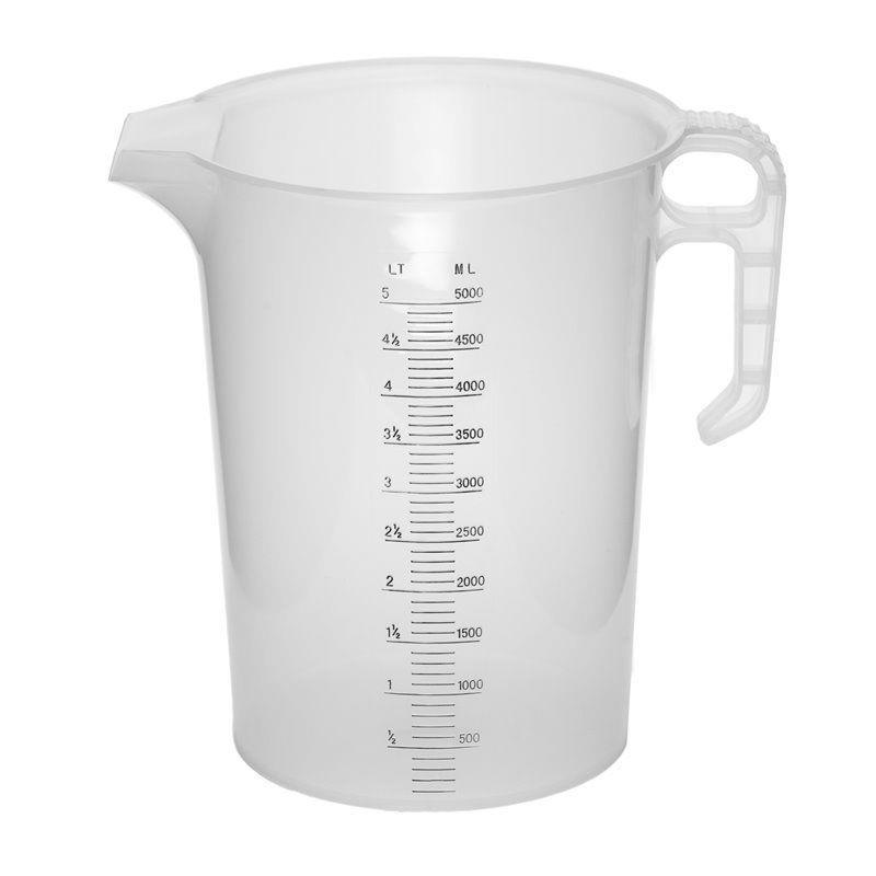 Clear Durable  Measuring Jug Massive Litre Cooking Kitchen Lightweight