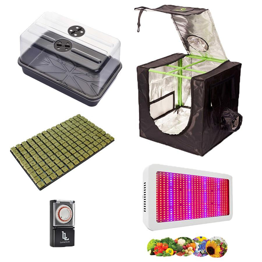 Hydroponics Complete LED Grow Tent Kit Canna Coco Fabric ...