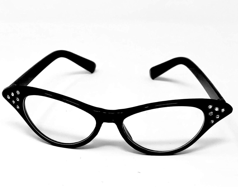 Ladies-Pink-Wig-Scarf-Glasses-Set-Fancy-Dress-50-039-s-Grease-Hen-Nights-Sandy-1950 thumbnail 15