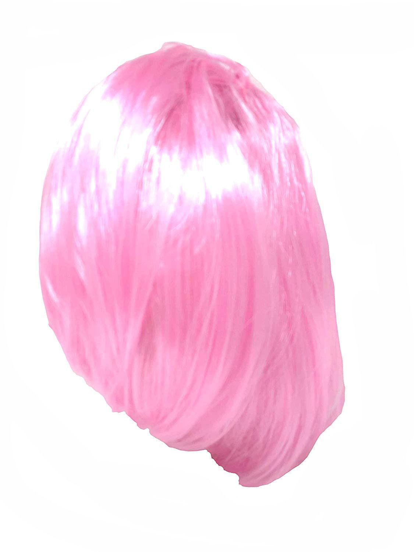 Ladies-Pink-Wig-Scarf-Glasses-Set-Fancy-Dress-50-039-s-Grease-Hen-Nights-Sandy-1950 thumbnail 14