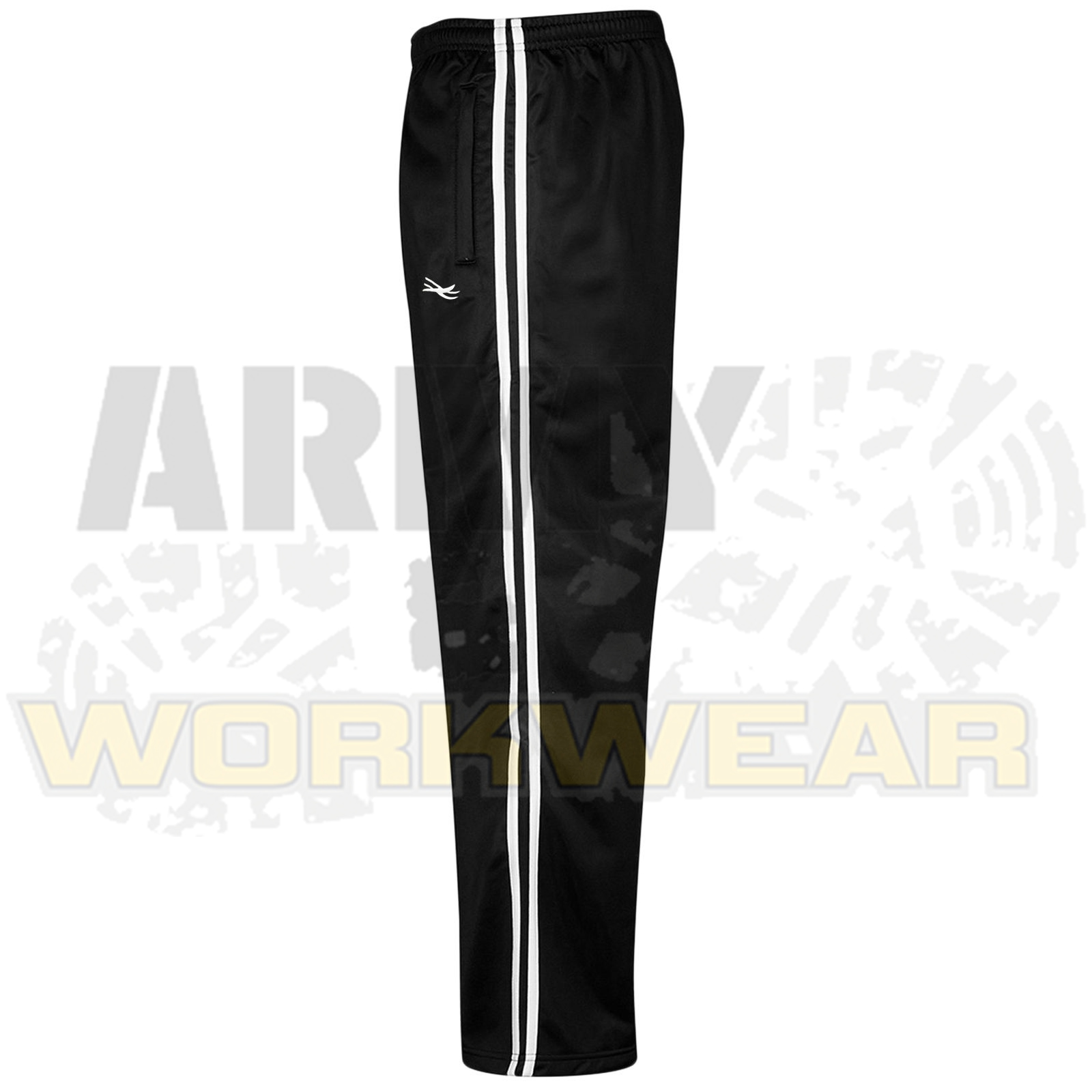Mens-Silky-Jogging-Bottoms-Striped-Joggers-Gym-Sports-Tracksuit-Pants-Trousers thumbnail 5