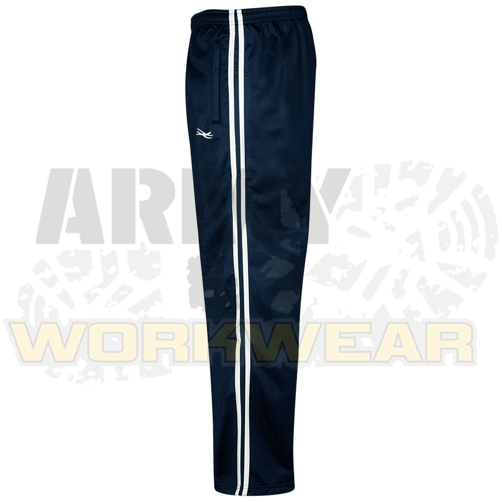 Mens-Silky-Jogging-Bottoms-Striped-Joggers-Gym-Sports-Tracksuit-Pants-Trousers thumbnail 7