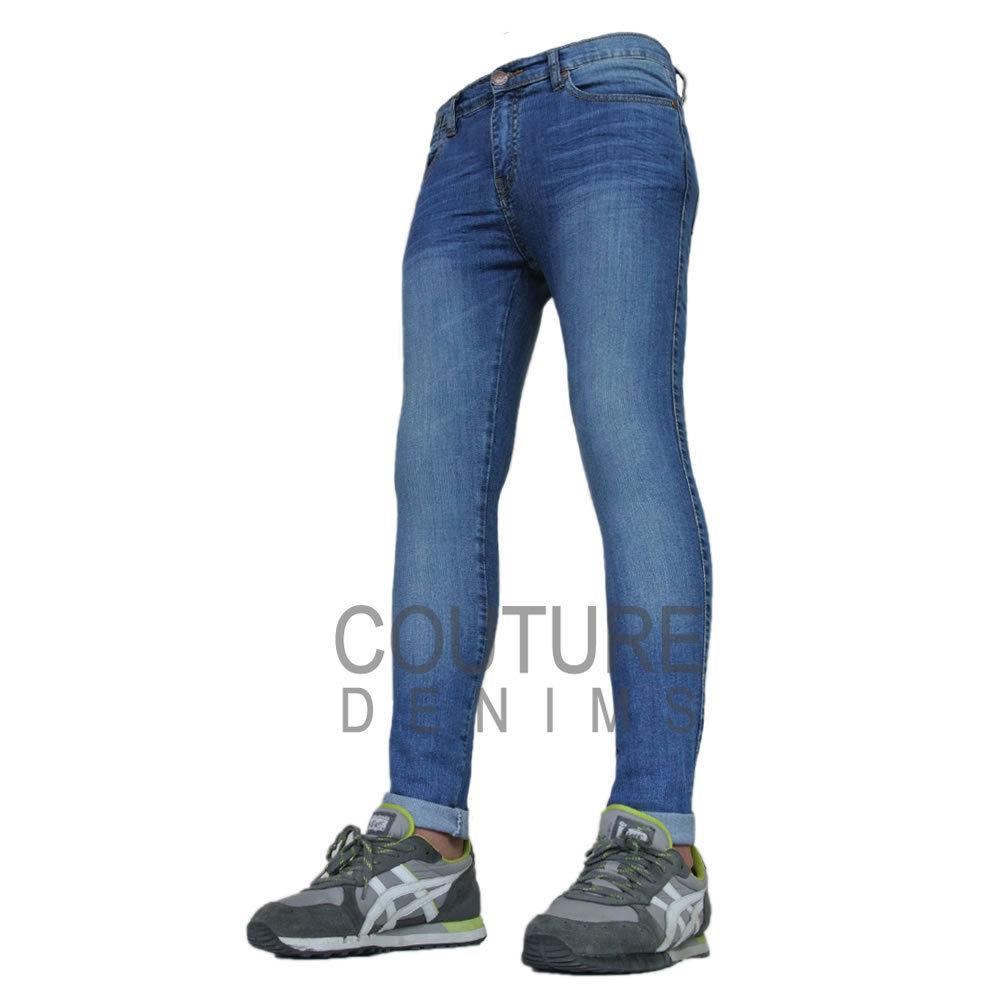 Super Skinny Stretch Mens Jeans
