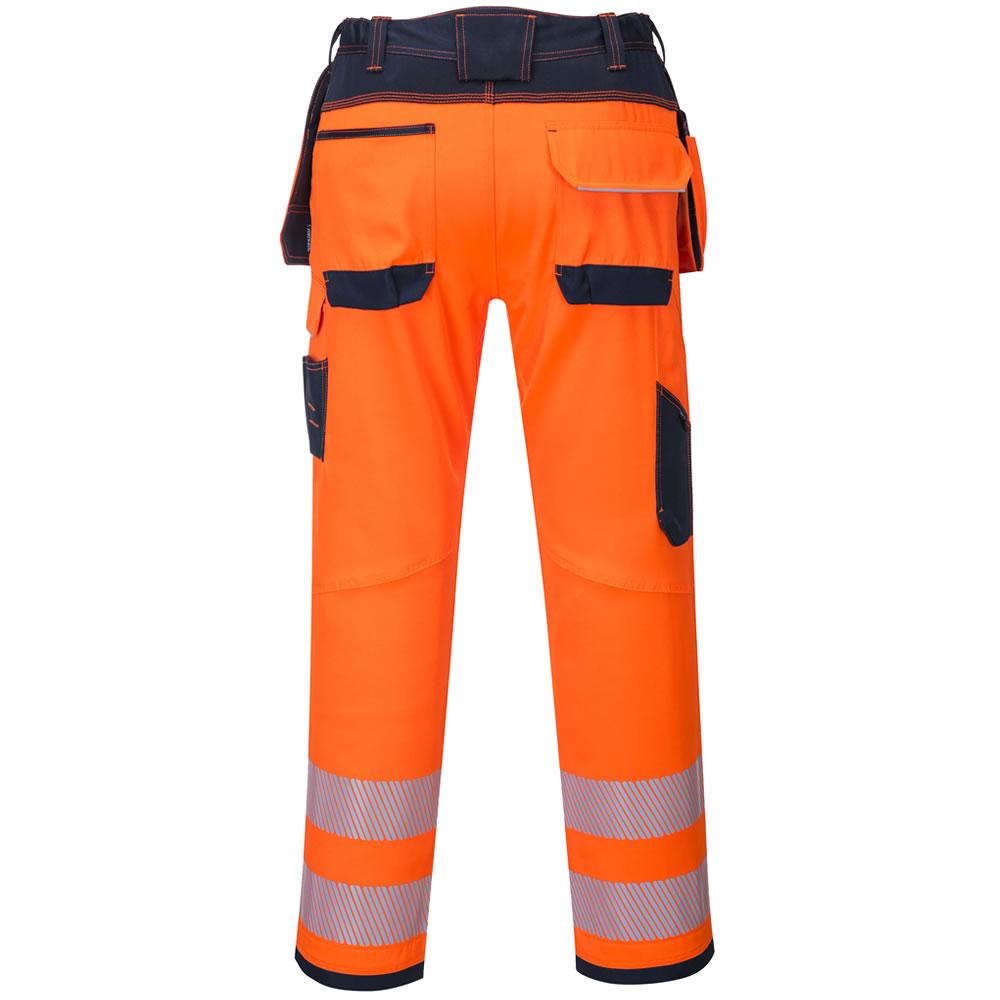 Portwest-Hi-Vis-Viz-Pantalones-De-Seguridad-Bolsillos-De-Trabajo-Funda-Para-hombre-libre-de-la miniatura 8