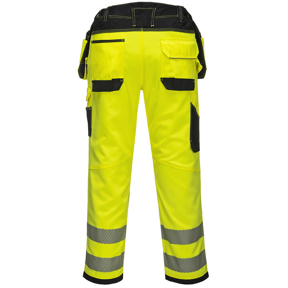 Portwest-Hi-Vis-Viz-Pantalones-De-Seguridad-Bolsillos-De-Trabajo-Funda-Para-hombre-libre-de-la miniatura 5