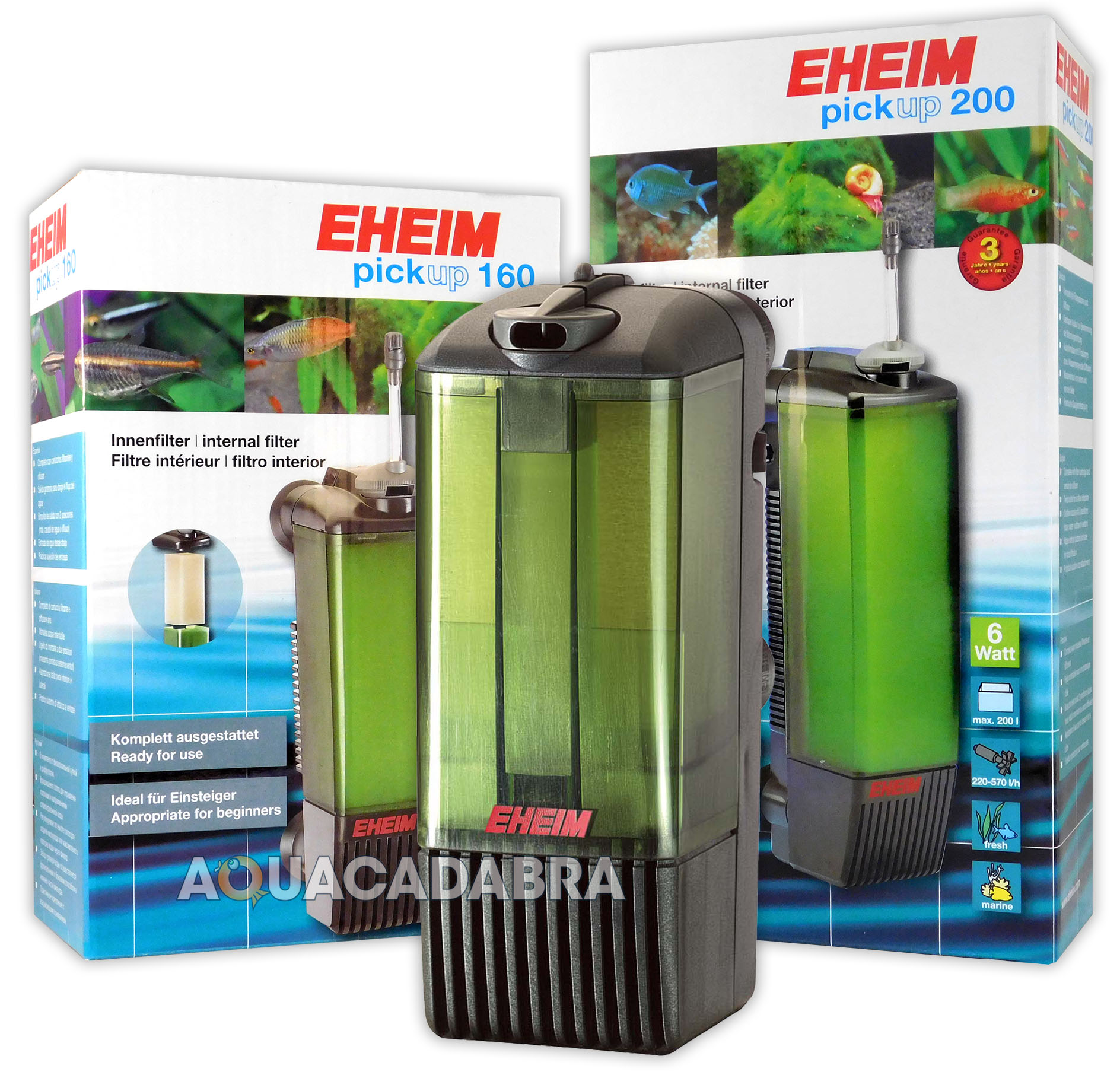 EHEIM PICKUP 45 60 160 200 INTERNAL FILTER FRESH WATER PICK-UP ...