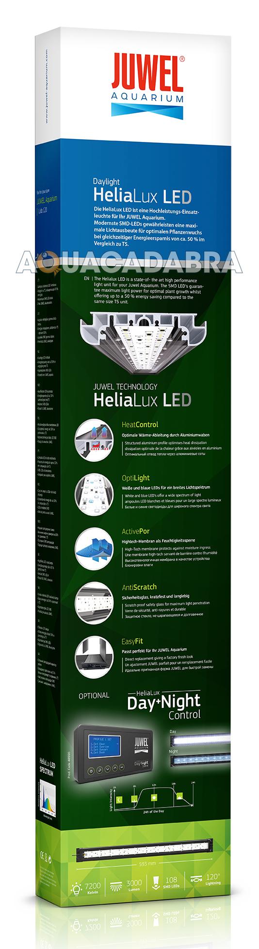 juwel helialux 600 led light unit for lido 120 replacement aquarium fish tank ebay. Black Bedroom Furniture Sets. Home Design Ideas