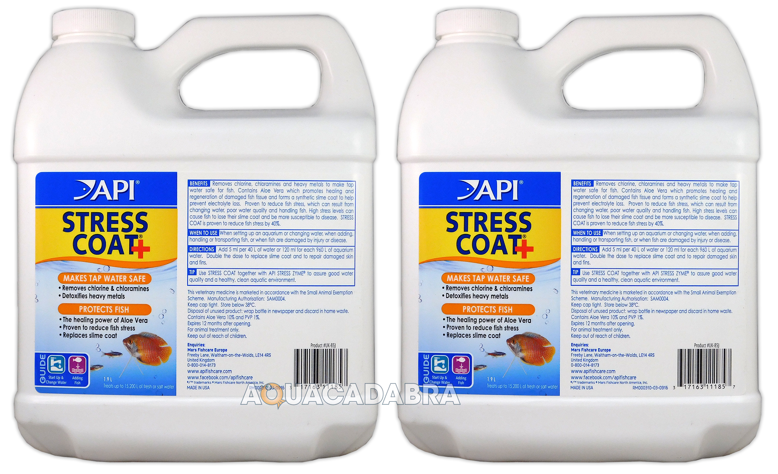 Api Stress Coat Water Conditioner Dechlorinator Treatment