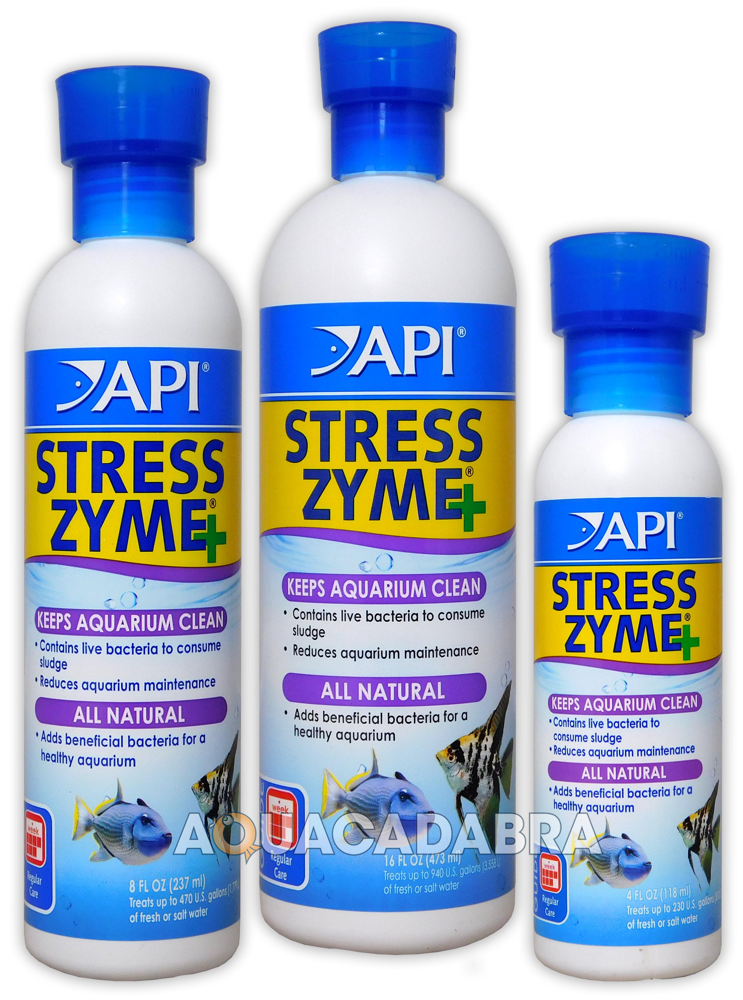 Details about API STRESS COAT & STRESS ZYME 473ML AQUARIUM FISH TANK TAP FILTER BOOSTER