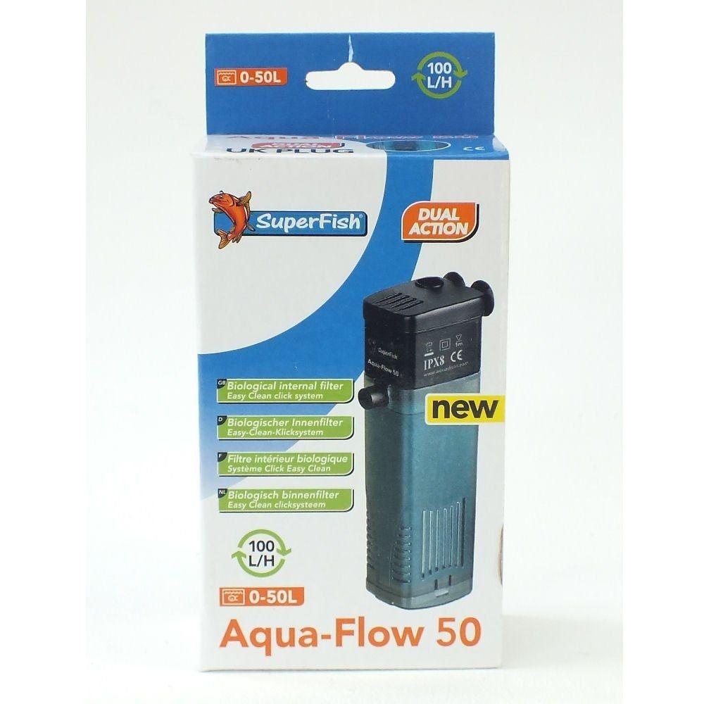 Superfish aqua flow filter fish tank spray bar internal for Internal fish tank filter