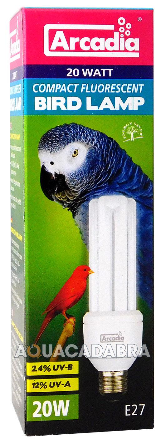 Arcadia Compact D3 Reptile Bird Light E27 Bulb Vivarium